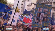Six One News (Web): Thousands call for second referendum at London march