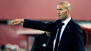 Zidane is aiming for a second Spanish title as manager