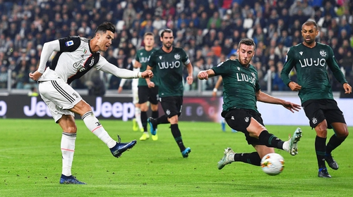 Ronaldo scores Juve's opener