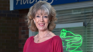 "Sue Nicholls - ""I had to have an operation, be written out of some scenes and take time off - which I hate doing as I don't like letting people down"""