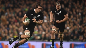 Sam Whitelock was part of a New Zealand team that  inflicted a record World Cup defeat on Ireland in Saturday's merciless 46-14 quarter-final victory in Tokyo