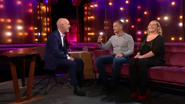 PJ Gallagher tells Ray D'Arcy his incredible true story