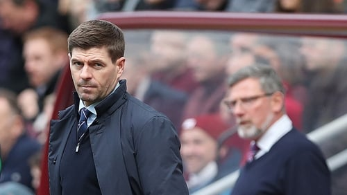 It finished 1-1 at Tynecastle