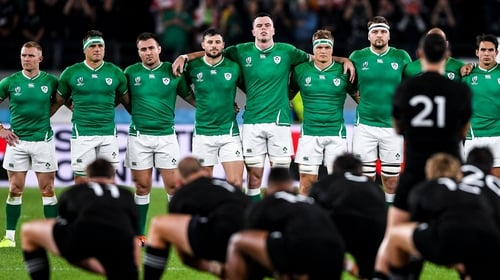 Ireland lost 46-14 to New Zealand