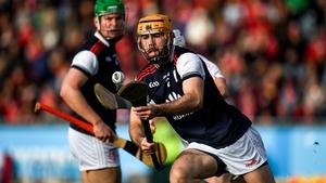 Cuala's Oisin Gough in possession in the Dublin SHC county final