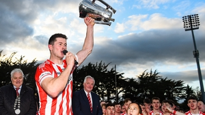 Seamus Harnedy with the cup