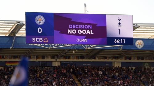 VAr delays have disrupted Premier League matches