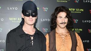 Neil Patrick Harris (L) and David Burtka attend Heidi Klum's 19th Annual Halloween Party