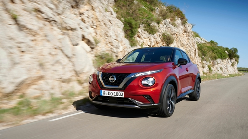 The new Juke has just one engine option - a 1.0 litre petrol.