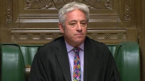 John Bercow i bparlaimint Westminster