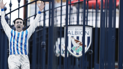 Jeff Astle is memorialised through the Astle Gates at West Brom's stadium The Hawthorns