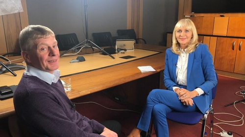 Tony Lunney discusses his family's ordeal with Miriam O'Callaghan