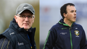 Brian Lohan (L) or Louis Mulqueen will be the next Clare manager