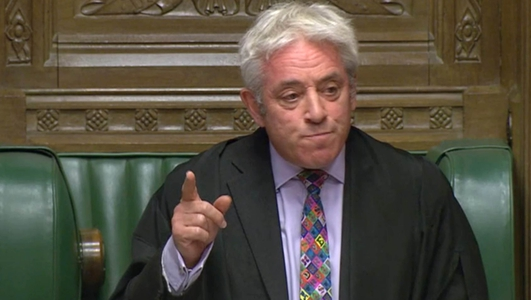 Bercow rejects 'meaningful vote' on Brexit deal