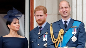 "Prince William is said to be ""worried"" about Prince Harry and Meghan Markle"