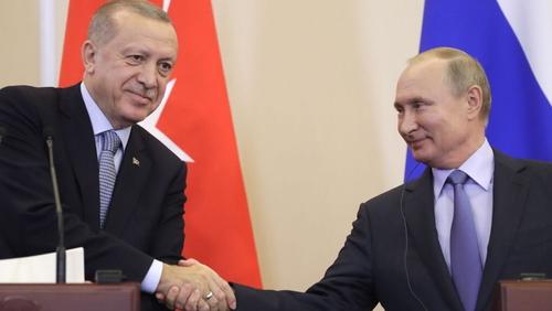 Recep Tayyip Erdogan and Vladimir Putin held six hours of talks today