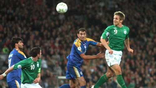 Kevin Doyle scored 14 goals for Ireland