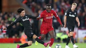 Naby Keita has had a stop-start career at Liverpool