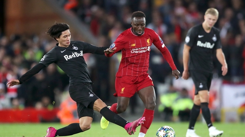 Naby Keita has had a stop-start career at Liverpool