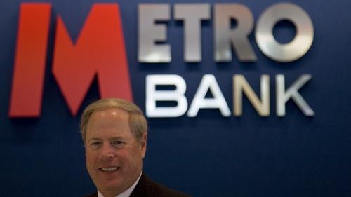 Vernon Hill was the founding chairman of UK lender Metro Bank