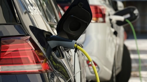 12.7% of new cars sold last year were electric or electric hybrid, a jump of 67.4% compared with 2018