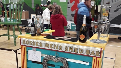 Sheds in Donegal are displaying everything from garden products and upcycled furniture to a bar