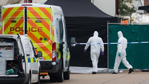 39 bodies were found in a refrigerated container at an industrial park in Essex in October