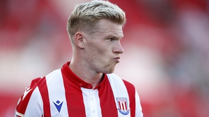 James McClean's Stoke are currently second from bottom of