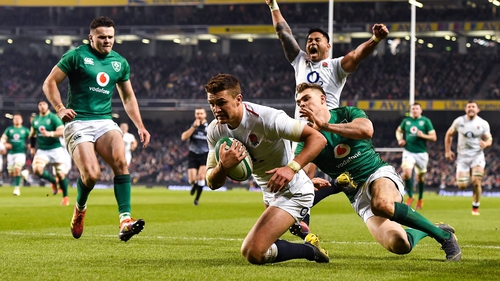 Henry Slade is back in the England squad