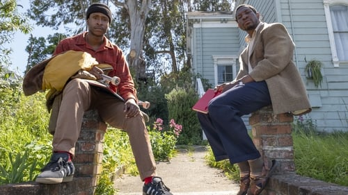 Jimmie Fails and Jonathan Majors in The Last Black Man in San Francisco