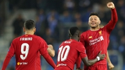 Alex Oxlade-Chamberlain of Liverpool celebrates