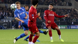 Genk will looking to fare better in their second outing against the European champions