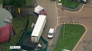 Nine News (Web): Lorry driver questioned after 39 bodies found in container in Essex