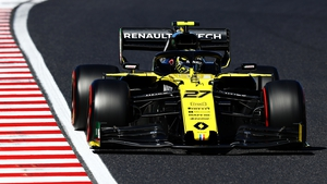 Nico Hulkenberg in action at the Japanese Grand Prix