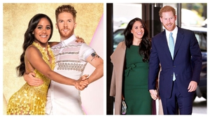 Strictly fans think professional couple Alex Scott and Neil Jones look like the Duke and Duchess of Sussex