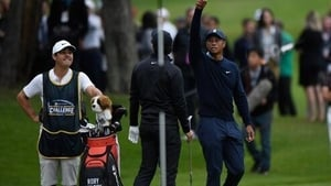 Tiger Woods recovered well after a shaky start