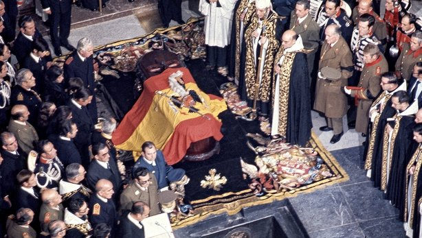 Spain begins exhuming late dictator Gen. Franco's remains