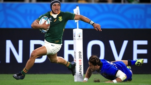 Cheslin Kolbe's loss is viewed as significant