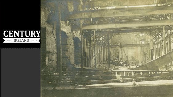 Century Ireland Issue 164 - GPO in Ruins (Photo: National Museum of Ireland)