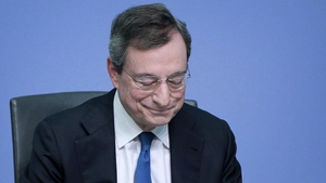 Mario Draghi's last news conference as President of the ECB was not the grand finale he was hoping for