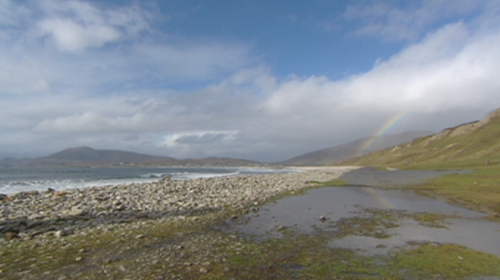 The notice for Achill island was issued last Friday