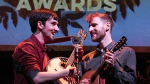 RTÉ Irish Folk Awards winners Ye Vagabonds