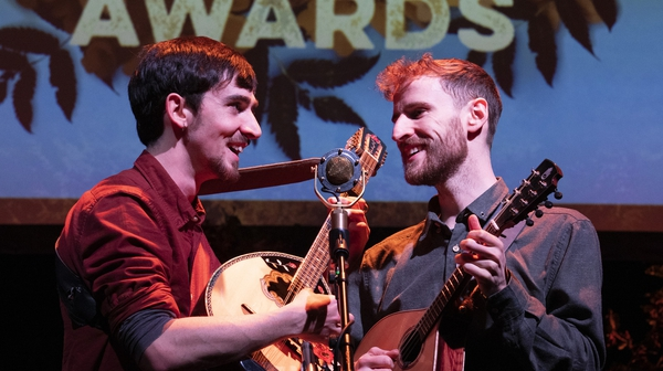 RTÉ Irish Folk Awards winners Ye Vagabonds