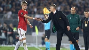 """Solskjaer: """"He's been fantastic the few games he's played. The boy has no fear, he is as brave as a lion and he got us the win"""""""