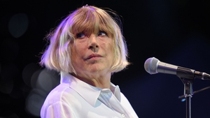 Marianne Faithfull is in hospital having tested positive for Covid-19