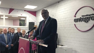 Commissioner Phil Hogan officially opening the new centre of excellence