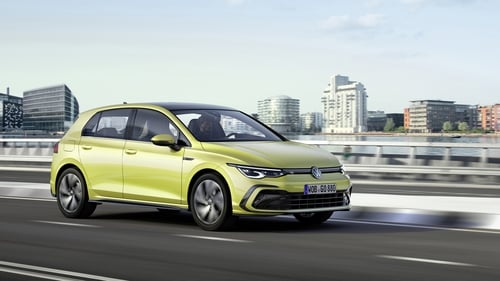 The new Golf arrives in Ireland in March.