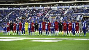 Porto and Rangers prior to their Europa League clash