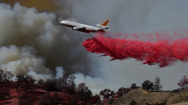 California bushfires lead to forced evacuation of nearly 200000
