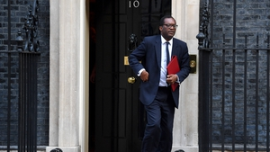 Kwasi Kwarteng defended the decision to mint thousands of commemorative 50p coins branded with 31 October Brexit date